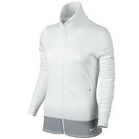 Chamarra Termica Nike Para Dama Full Zip (white) L Y Xl