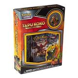 Juego De Cartas De La Colección Pokemon Tcg Tapu Koko Pin