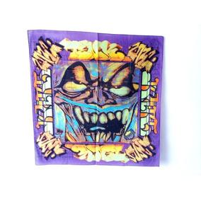 Paliacate Pañuelo Bandana Grafity Demon Marihuano Unisex