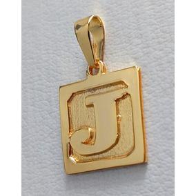 Pingente Placa Letra Ouro 18k - Joias e Relógios no Mercado Livre Brasil b7f1e328bb