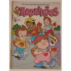 Gibi Dos Trapalhões Nº 20 - Ed. Abril - 1989