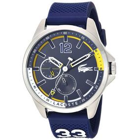 47ed8527145 Relógio Lacoste Masculino Capbreton Náutica Silicone 2010897