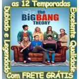 Big Bang: A Teoria Serie (1ª Até 12ª Temporada) Frete Grátis