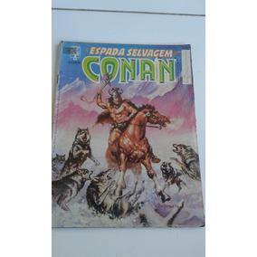 A Espada Selvagem De Conan Nº 50 Bom Estado