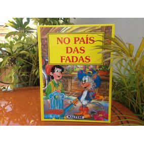 Antigo Livro No País Das Fadas Maltese 1995 Disney