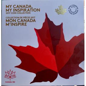 Folder Moedas Canadá 150 Anos 2017 - Brilha No Escuro