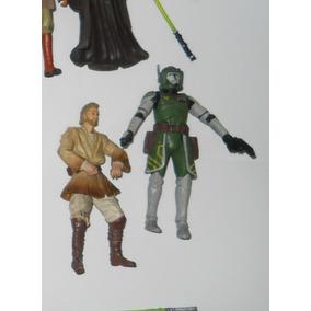 Figuras Star Wars Doom Clone Commander, Luke 10figuras C66