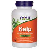 Now Foods Kelp 250 Cápsulas Vegetais 325mcg