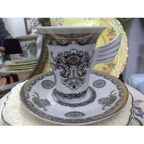 Taza De Té De Porcelana Versace