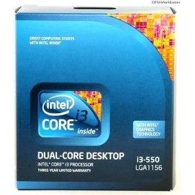 Procesador Intel Core I3 - 550 Socket Lga1156