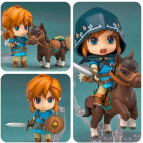 Nendoroid Figure Zelda Link 733 Dx Breath Of The Wild Deluxe