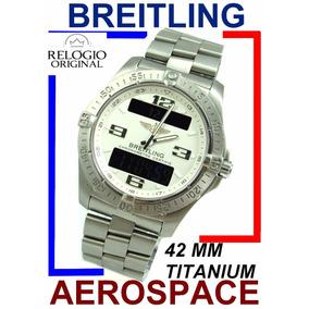 Breitling Aerospace Avantage 42 Mm Todo Titânio E79362!