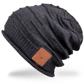 681fe5399c4 Mydeal Adult Unisex Trendy Soft Warm Bluetooth Beanie Hat