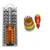 Jogo Soquetes +bits +bocas Sextavadas +chave Precisão 31 Pçs