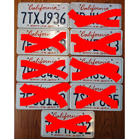 Patentes Estados Unidos California Excelente Estado