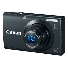Canon Powershot A3400 Is 16mp 5x Hd+ Sd 4gb + Estuche