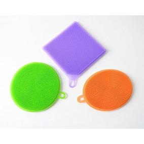 cf3ae4cb67b Fregona De Silicona Esponja Multiusos - Limpiar Plato Lavar