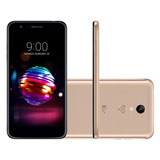 Smartphone Lg K11+ X410 - Dourado, Tela 5.3, 32g