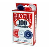 Set Fichas Bicycle Poker Con 100 Piezas */*