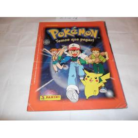 Álbum Pokémon (temos Que Pegar!) - Ano 1999 - Panini - A14