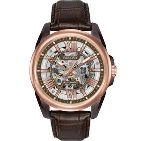 Reloj Bulova Automático Para Caballero Original 98a165