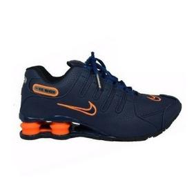b97277693fd Tenis Nike Shox Esporte Corrida Caminhada Laser 4 Molas - Calçados ...