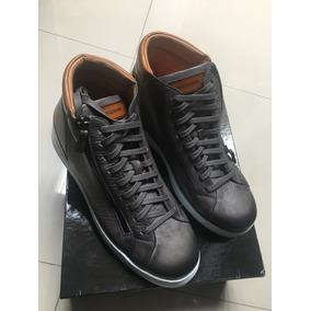 Sneakers Tenis Zapatos Magnanni De Piel Caja Cubrepolvos