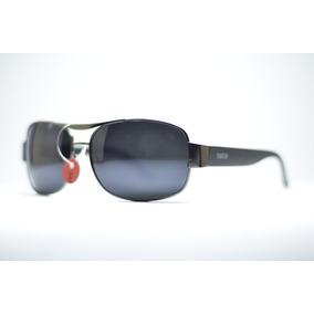 afc5a3bbd6651 Óculos De Sol Quadrado Preto Polarizado Grande Plus Size