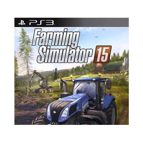 Farming Simulator 15 Ps3 Midia Digital Codigo Psn Promoção