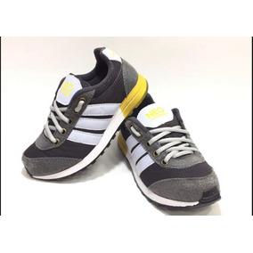 5555e27c9c6 Tenis Infantil Menina Adidas Dourado - Tênis no Mercado Livre Brasil