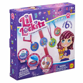 Alex Brands Lil Lock-itz! Pets Set