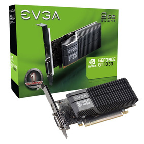Tarjeta De Video Evga Geforce Gt 1030 Sc 2gb Gddr5 Lp