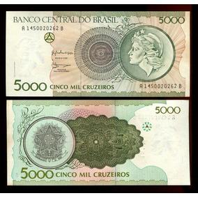 5.000 Cruzeiros - 1990 - C.222 - Flor De Estampa - Lote.262