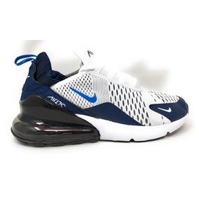 Tenis Nike Air Max 270 Triple Blue Hombre