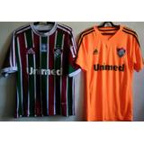 Camisa Fluminense Laranja 2013 - Camisas de Futebol no Mercado Livre ... 5abd6f73f6821