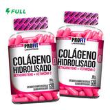 Kit 2x Colágeno Hidrolisado C/ Betacaroteno + Vit C 240 Caps