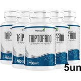 5un L-triptofano 500mg 60 Cáps Natural Original Melcoprol