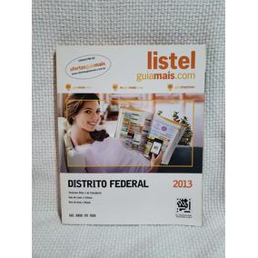 Lista Telefônica Comercial Listel 2013 Distrito Federal