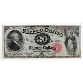 20 Dolares 1880 Letra C Numero 147