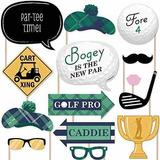 Par-tee Time - Golf - Kit De Apoyos Para Fotomatón - !