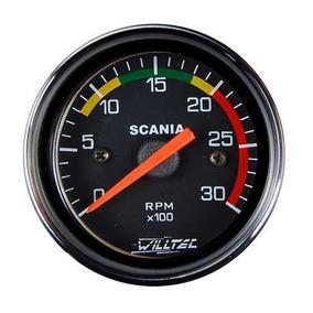 Relógio Tacômetro - 24v/8gl - W41015 - Willtec