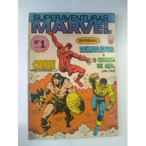 Superaventuras Marvel Nº 1 - 1982 - Ed. Abril - Rara !