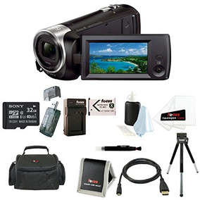 Sony Hdr-cx405/b Handycam Hd Camcorder W/ 32gb Deluxe Kit De