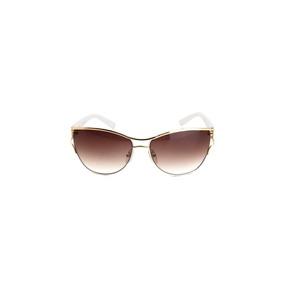 eb2b70c98a4c5 Oculos De Sol Feminino Atitude Metal Proteção Uv Degradê