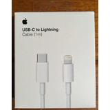Cable Usb Tipo - C A Lightning Apple Iphone 1 Metro Original