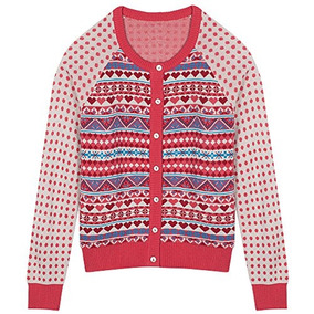 Suéter Tipo Cárdigan Estilo Isla Azul Justa De Blueberry P 6db6acfb1554
