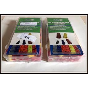 Kit De Conectores De Torção Importado Com Estojo - 158 Peças