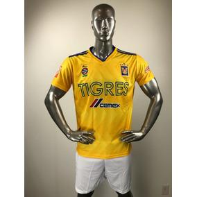 0eecc6424e Tigres Local Uniforme Futbol Jersey Playera Personalizada ·   285