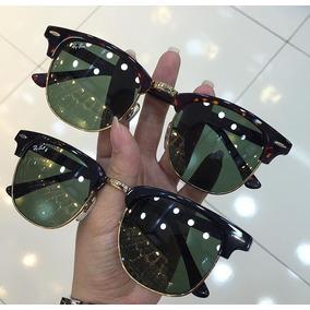 Óculos De Sol Ray Ban Clubmaster Classic Importado Lindo. R  339 953ad36665