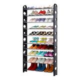 Organizador Porta Zapatos Zapatera Armable 10niveles 30parss
